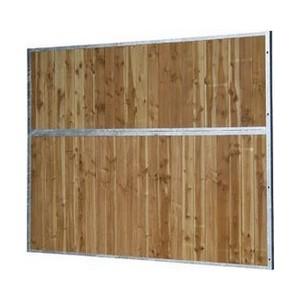 Séparation pleine bois 3.50m